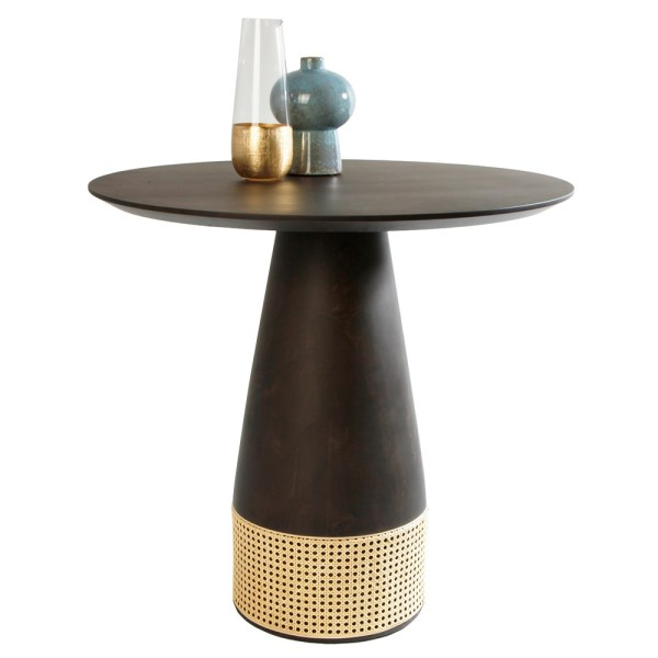 austin cane dining table, tables for hotels and restaurants