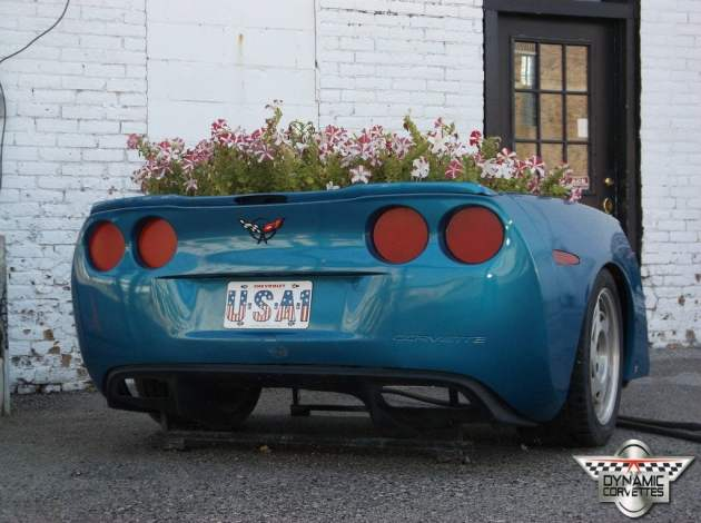 Our C6 rear end flower box
