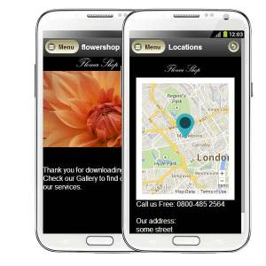 flower shop mobile apps