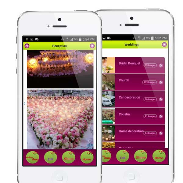 Flowers delivery and ecommerce mobile app