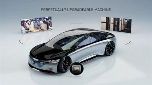 Mercedes-Benzin tuleva autojen käyttöjärjestelmä mahdollistaa automaattisen ajamisen ja jatkuvat päivitykset pilvipalvelusta