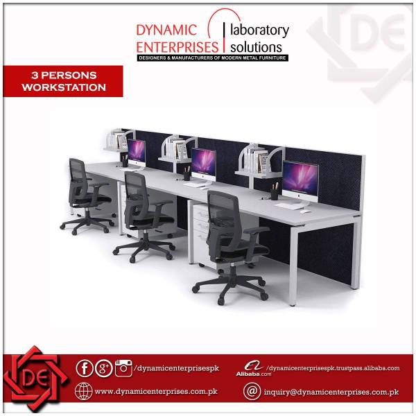 3 Persons Workstation