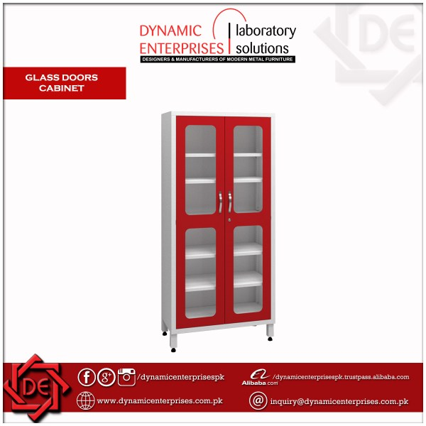 Glass Doors Cabinet