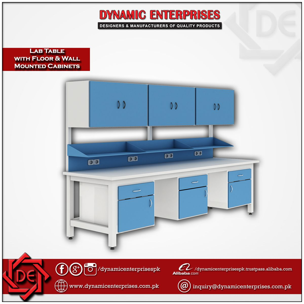 Laboratory Workstation Table