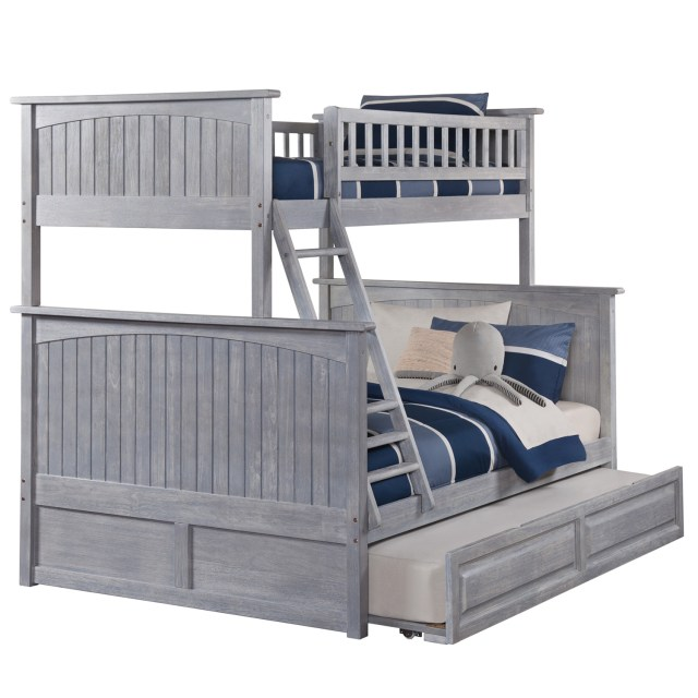 Atlantic Furniture AB Nantucket Bunk Bed Twin over Full w