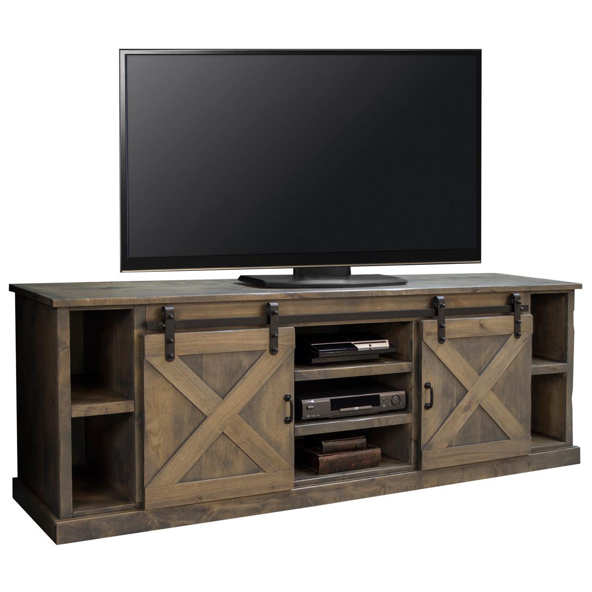 Legends Furniture FH1425 Farmhouse 85 TV Stand Console In