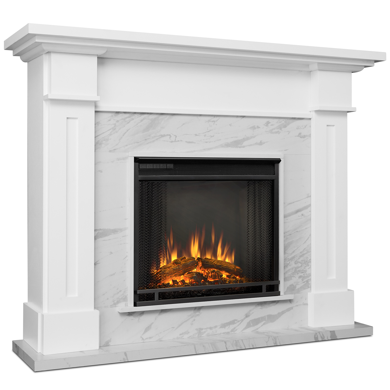 Real Flame E Wm Kipling Indoor Electric Fireplace In