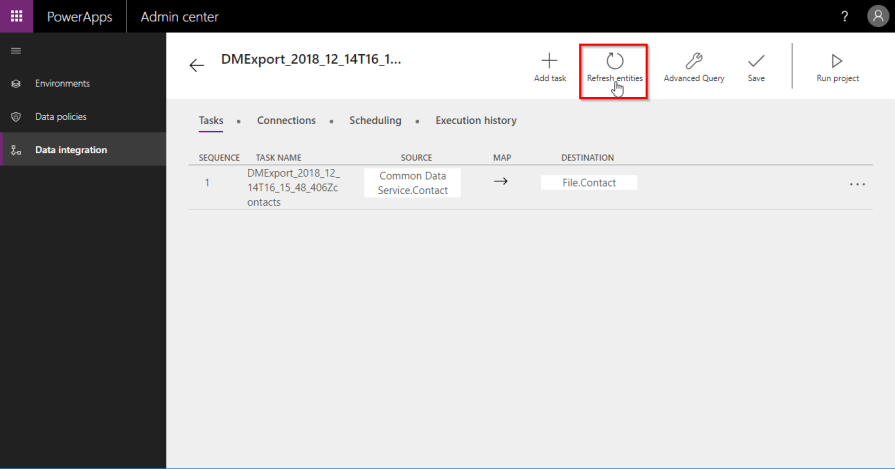 Missing fields when exporting data from PowerApps (CDS For Apps