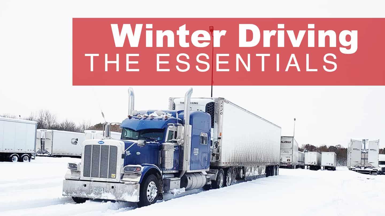 Winter Driver the Essentials