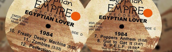 Egyptian Lover Album – 1984 (incl. Hardfloor vs Dynamik Bass System Remix)