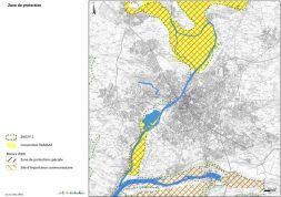 Un des rendus de Dynamique Hydro : cartographie des zones de protection
