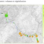 BEAUME - Hydromorphologie : cartographie de la répartition du volume et de la végétalisation des atterissements