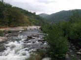 Vue de la rivière Chassezac