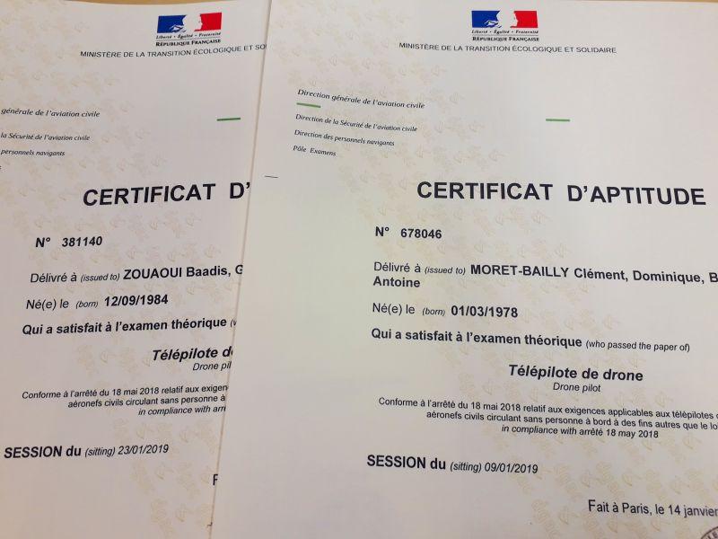 #112 – Pilotes de drone certifiés