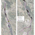 Cartographie de synthèse des mesures de suivis géomorphologique