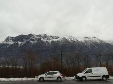 ISERE - banc de Freterive - véhicules Dynamique Hydro