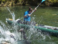 Du difficile apprentissage du canoë...