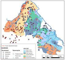 Cartographie des sources et assecs du bassin versant