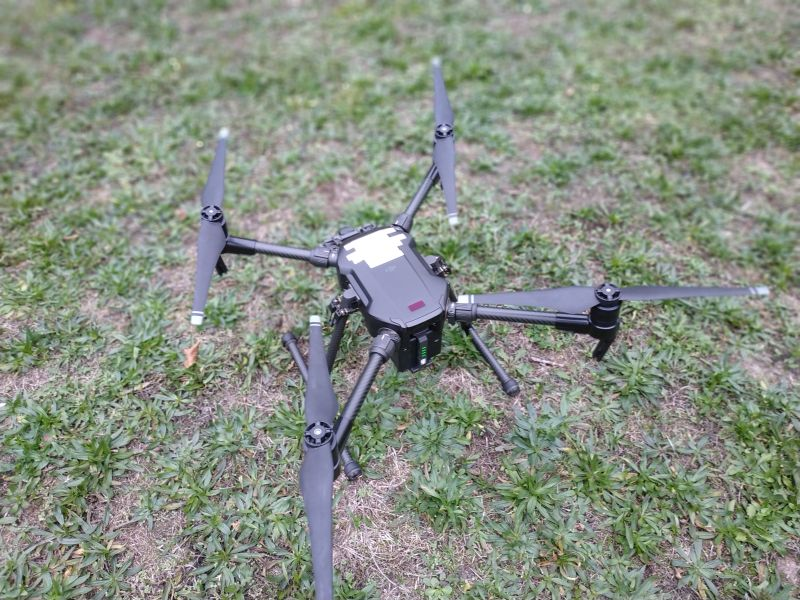 Formation photogrammétrie : vue d'un drone