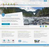 Imprimécran de notre ancien site internet de 2010