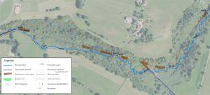 Projet au stade esquisse de la restauration de la zone humide du marais des Tattes