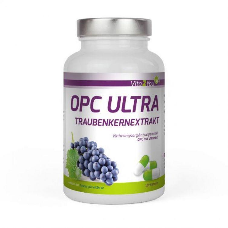 OPC ULTRA Traubenkernextrakt mit Vitamin C