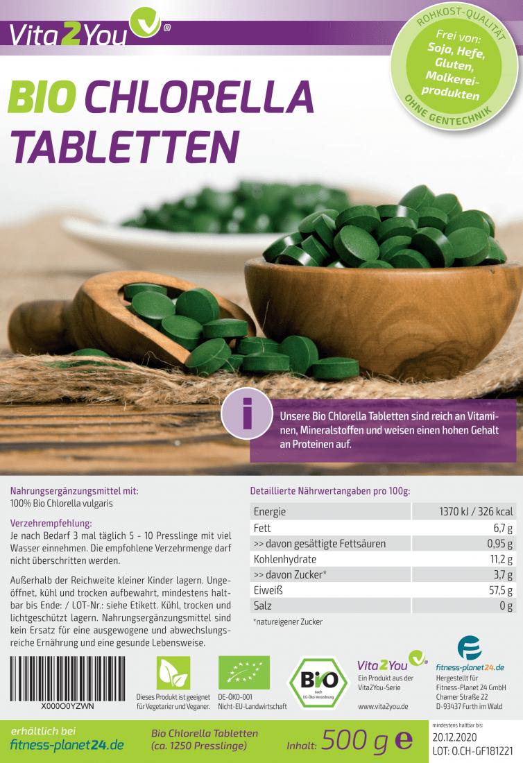 Bio Chlorella Tabletten