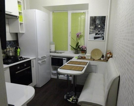 дизайн маленькой кухни фото 6