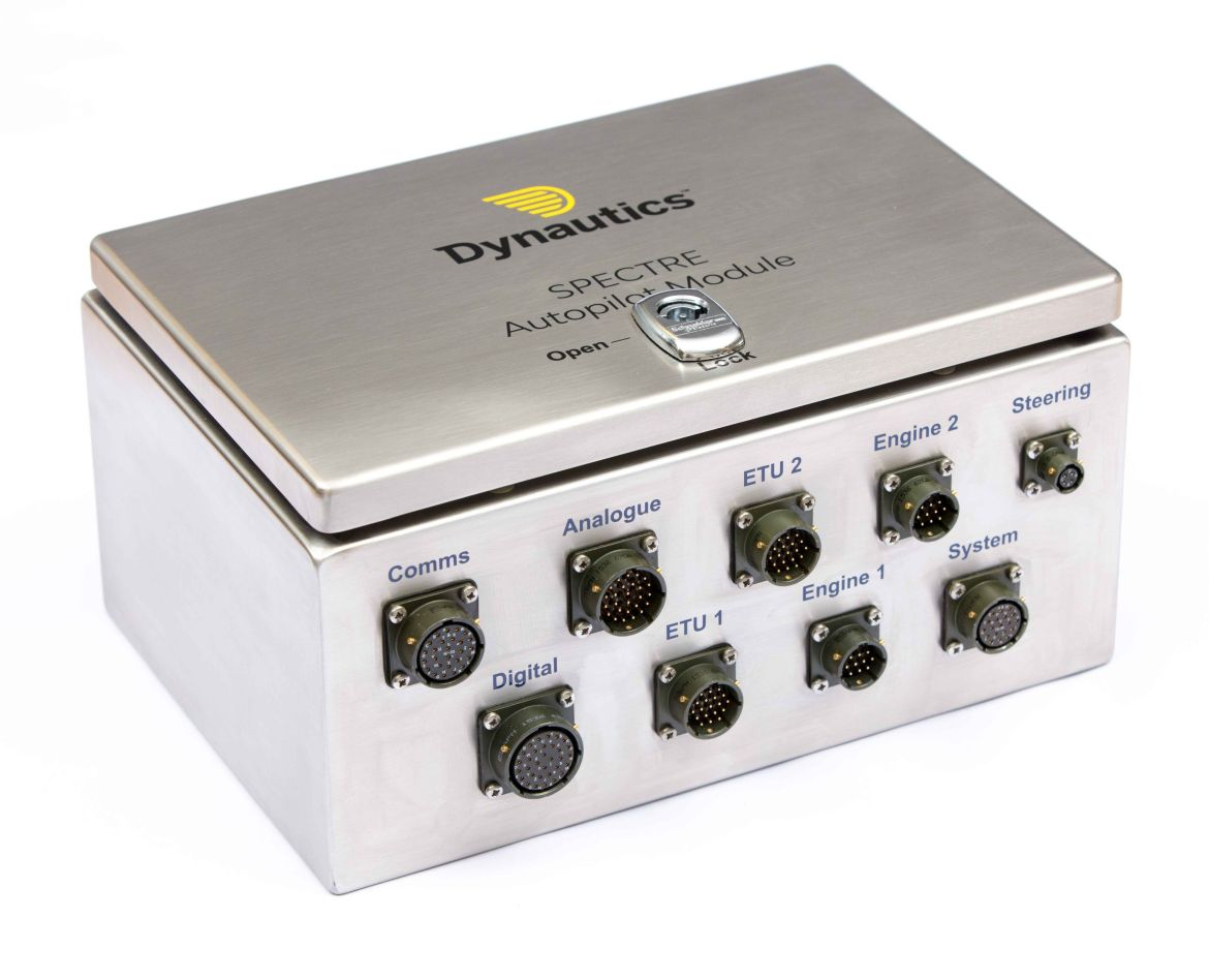 Dynautics Spectre autopilot module for unmanned surface vehicles