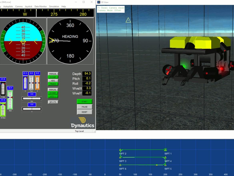 Marine Simulators - AUV sim