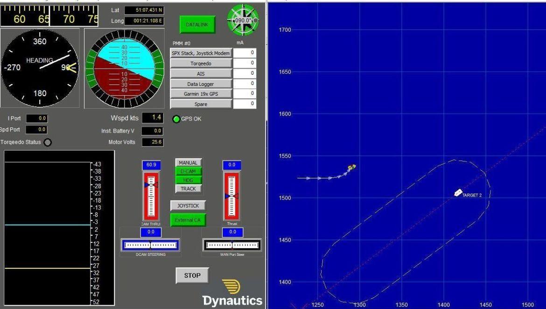 Collision Avoidance interface