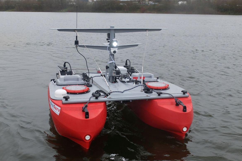 USV E-Boat T Spectre control system