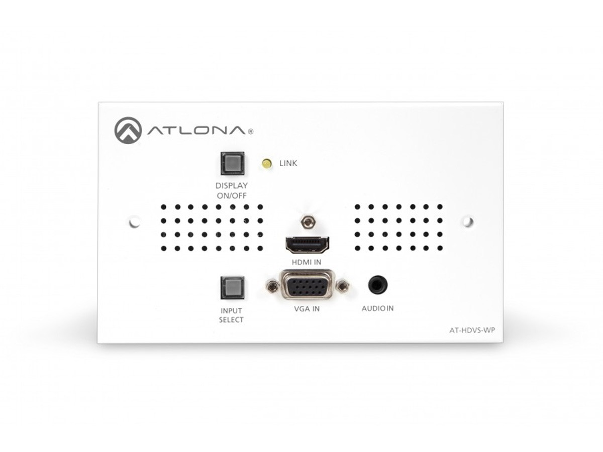 Atlona At Hdvs Tx Wp Hdbaset Transmitter Switcher