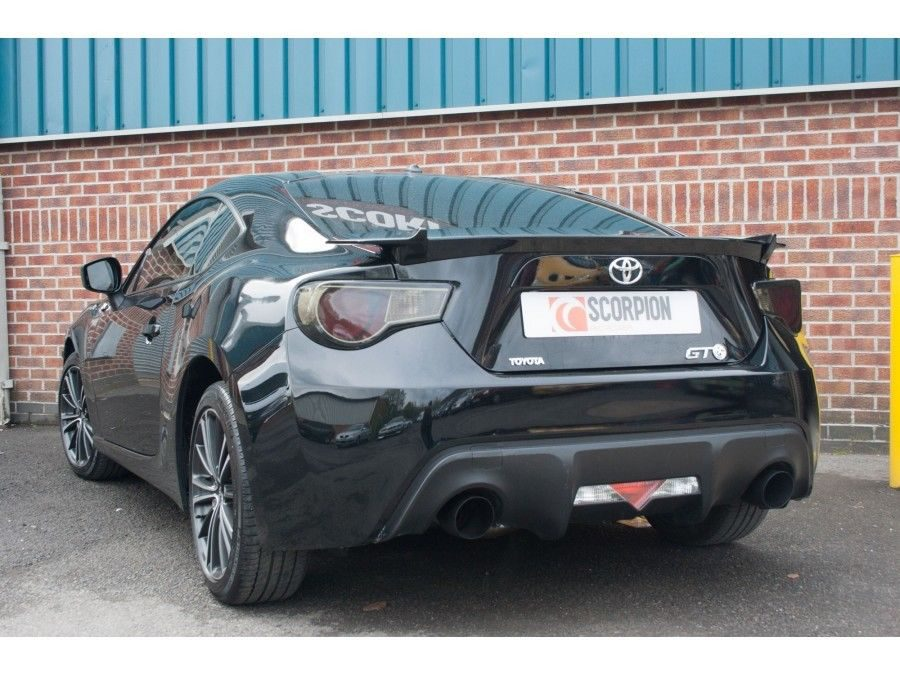 toyota gt86 exhaust secondary cat back
