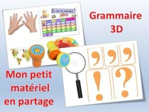Rendre la grammaire vivante avec la grammaire 3D
