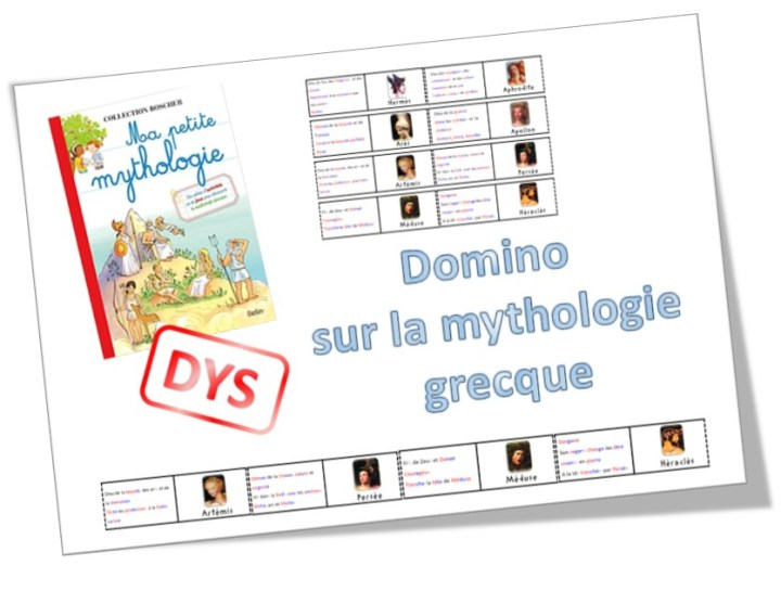 domino mythologique