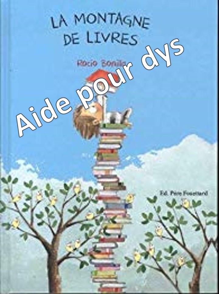 La montagne de livres dys