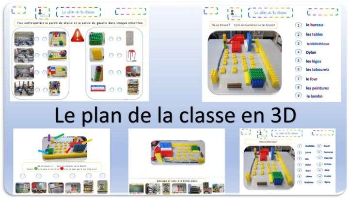 Exercice sur le plan de la classe et leçon