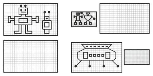Robots, dyslexia, dyscalculia, parents, worksheet, perception, visual perception, spatial perception, attention