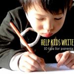 Literacy: Helping Kids Write