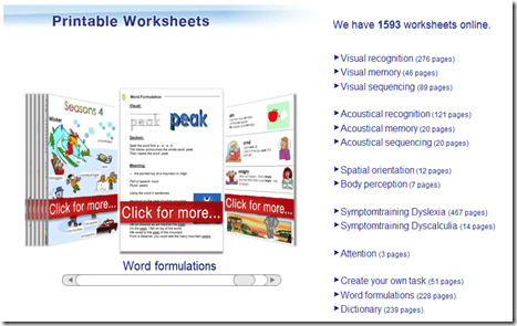 Dyslexia, worksheets, free, parents, children, homeschooling, reading, writing, AFS-method