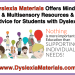 Dyslexia Materials Offers Mindful and Multisensory Resources and Advice for Students with Dyslexia