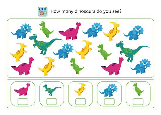 Dinosaur Perception Training - American Dyslexia Association : American  Dyslexia Association