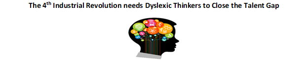 "Manufactures supporting ""Made by Dyslexia"" awareness initiative for the 4th Industrial Revolution"