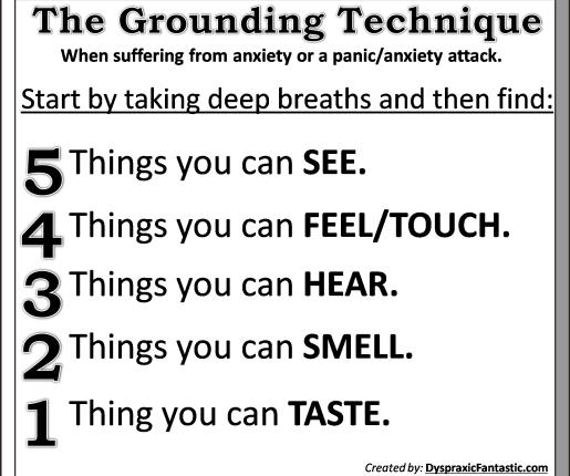 The Grounding Technique