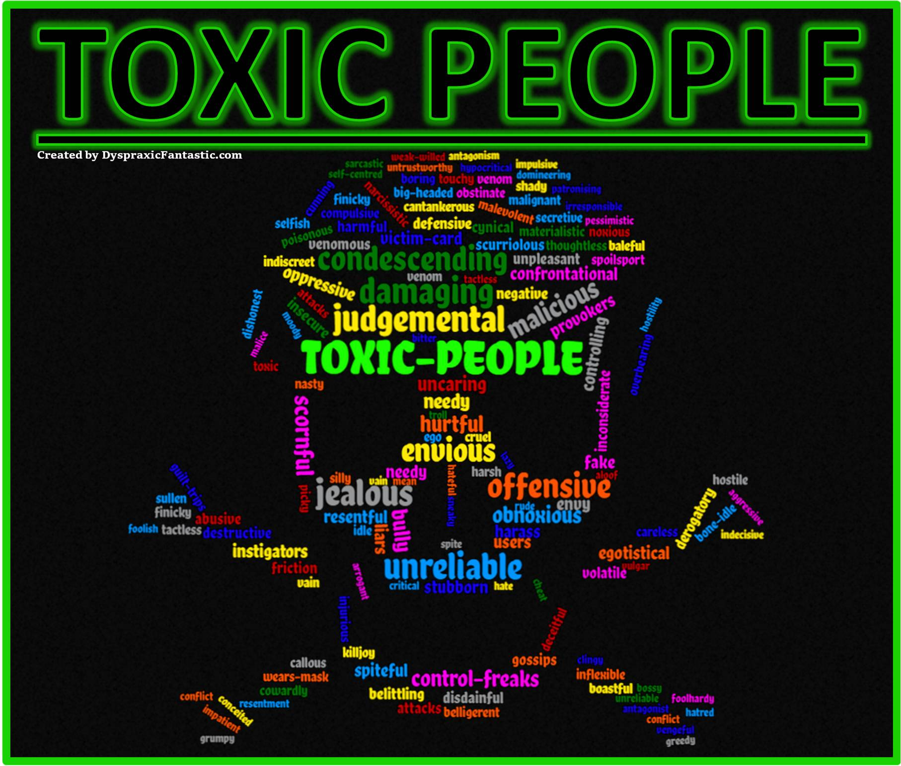 Post #113 ~ Dealing with Toxic People