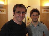 Vincent Marron et Renan Luce