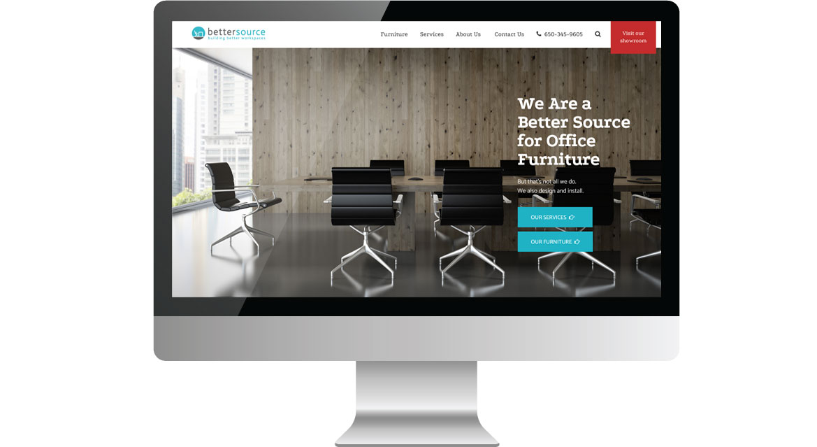 bettersource homepage