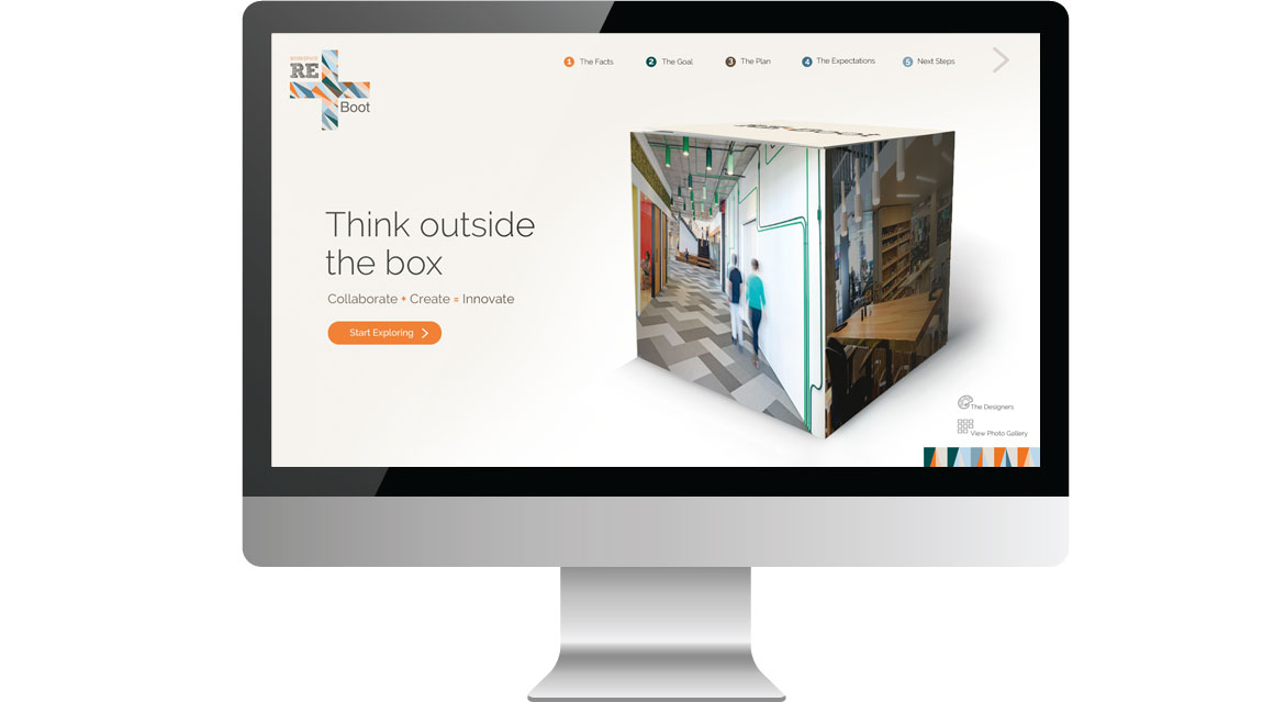 cisco homepage design