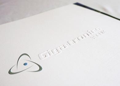 gigatronics paper handout design